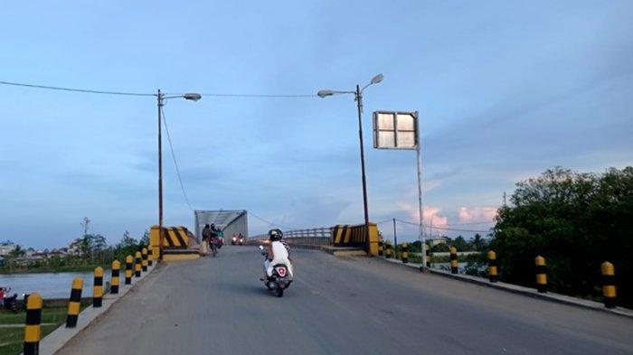 Kondisi cuaca terpantau cerah berawan di Kecamatan Malinau Kota, Kabupaten Malinau, Provinsi Kalimantan Utara, Kamis pagi (24/6/2021). (TRIBUNKALTARA.COM/MOHAMMAD SUPRI)