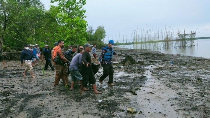 UPDATE Pencarian Korban Tenggelam, Akhirnya Tim SAR Tarakan Temukan Ilyas Dalam Kondisi tak Bernyawa