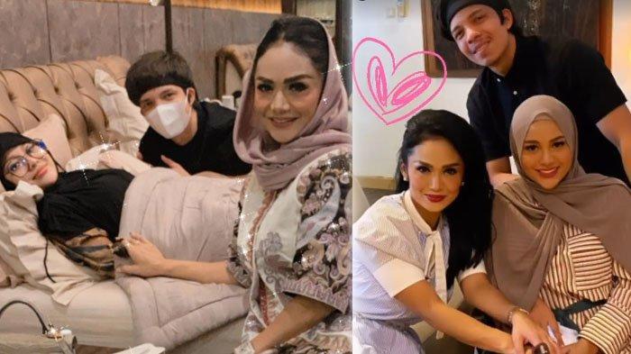 Aurel Hermansyah Hamil, Krisdayanti Bahagia Posting Video USG Kehamilan Calon Cucunya: Alhamdulillah
