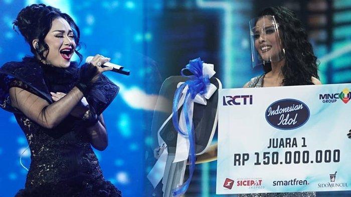 Rimar Callista Resmi Juara Indonesian Idol 2021, Dimeriahkan Para Mantan, Krisdayanti Dipuji Anang