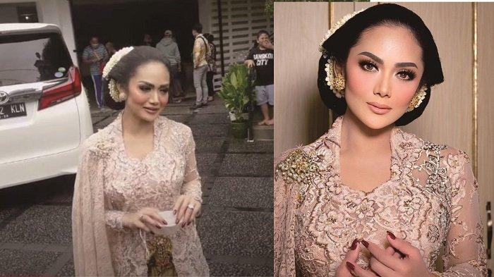 Detik-detik Pernikahan Atta dan Aurel, Krisdayanti Tampil Anggun Kenakan Sanggul 'Bangun Tulak'