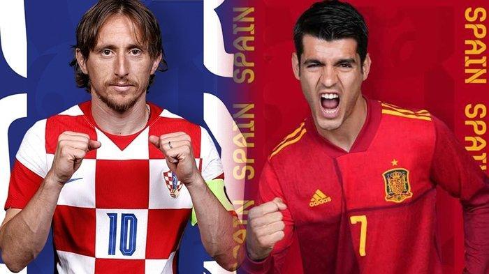 Prediksi Kroasia vs Spanyol di Euro 2020, Luka Modric dkk Pincang Tanpa Winger Inter Milan