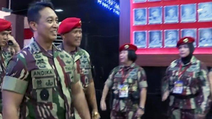 Andika Perkasa Dapat Dukungan Eks Jenderal Kopassus, jadi Panglima TNI Gantikan Hadi Tjahjanto