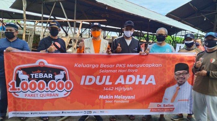 PKS Balikpapan Kurban 68 Ekor Sapi Tersebar di 5 Kecamatan, Pemotongan Hewan Kurban Secara Prokes