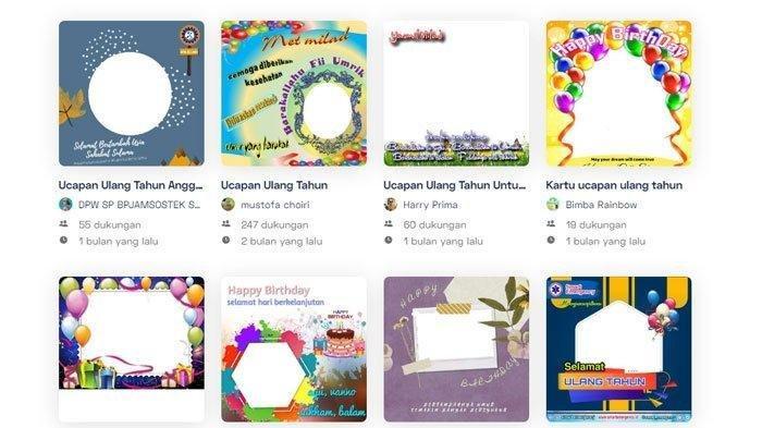 10 Link Twibbon Ucapan Selamat Ulang Tahun, Buat Kartu Ucapan Spesial dan Kirimkan ke Orang Terdekat
