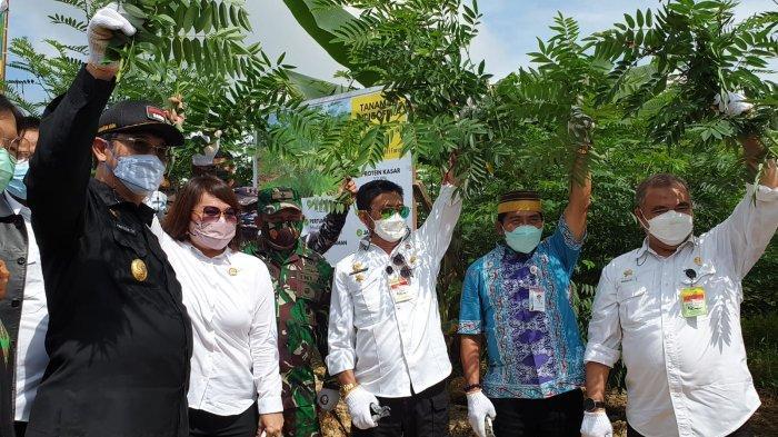 Menteri Pertanian Syahrul Yasin Limpo Tekankan Pimpinan di Bulungan Manfaatkan Lahan Sebaik-baiknya