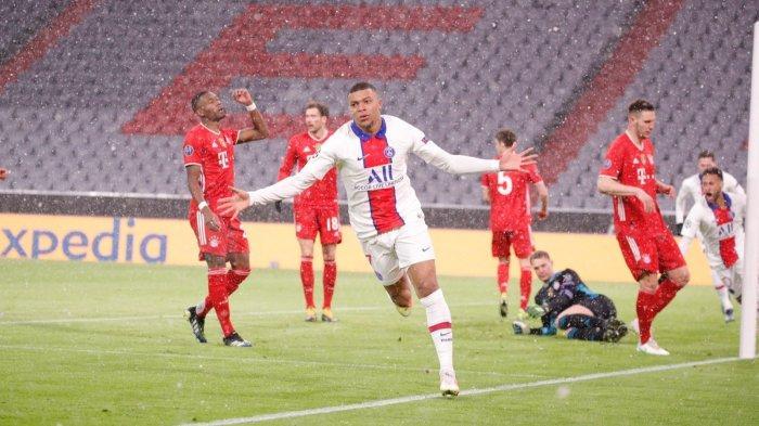 Mbappe Cetak Brace, PSG Bungkam Bayern di Allianz Arena, Selangkah Lagi ke Semifinal Liga Champions