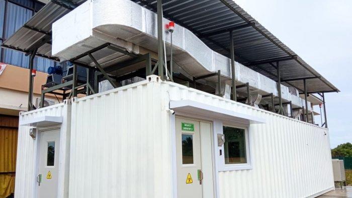 Laboratorium PCR Biosafety Level 2, Untuk Uji Sampel Covid-19, bertempat di Dinas Kesehatan Kaltara, Tanjung Selor, Selasa (5/1/2021) ( TRIBUNKALTARA.COM / MAULANA ILHAMI FAWDI )