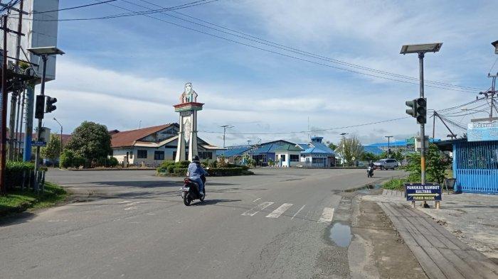 Lampu Lalu Lintas Dipertigaan Bandara Malinau Dinonaktifkan, Ini Penyebanya, Segera Diperbaiki