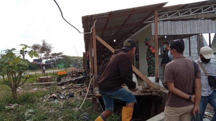 Bangunan Kios di Pasar Induk Tanjung Selor Ditertibkan, Pedagang Mengaku Tidak Pernah Dilarang