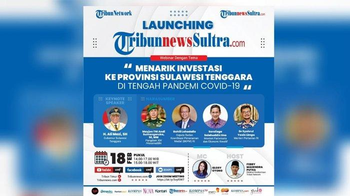 Launching TribunnewsSultra.com, Jadi Portal Ke-51 Tribun Network, Ada Seminar Trik Menarik Investasi