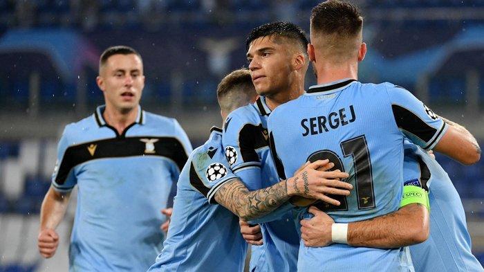 Hasil Liga Champions, Lazio Akhiri Sial 2 Dekade, Dampingi Dortmund ke 16 Besar