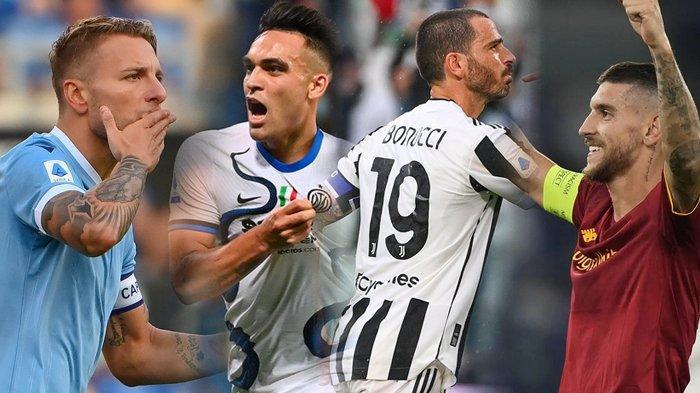 Jadwal Liga Italia, Reuni Inzaghi saat Lazio vs Inter Milan, Mourinho Bawa AS Roma Tantang Juventus