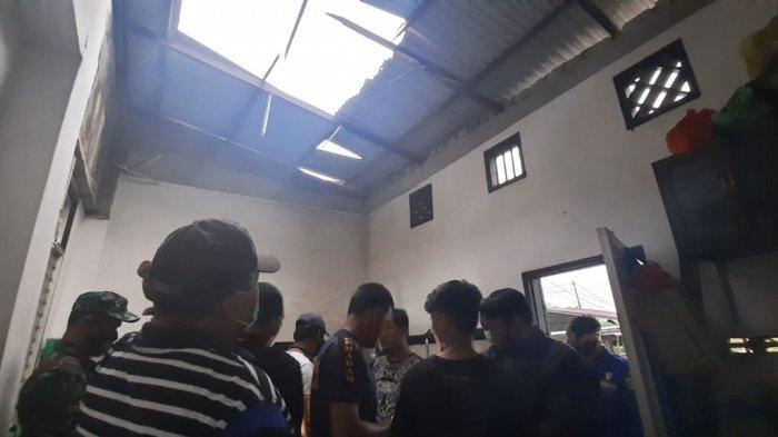 Ledakan Keras dari Sebuah Toko di Samarinda Kagetkan Warga, Tim Gegana Brimob Kaltim Turun Memeriksa