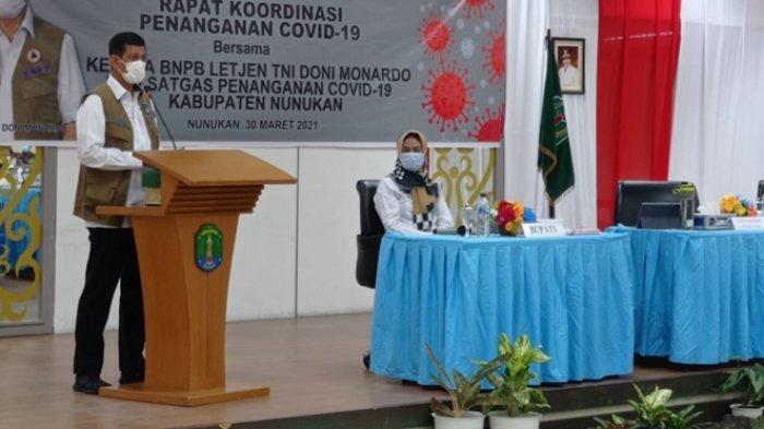 Usai Curhat di Hadapan Kepala BNPB Doni Monardo, Bupati Nunukan Akui Mendapatkan Respon Ini