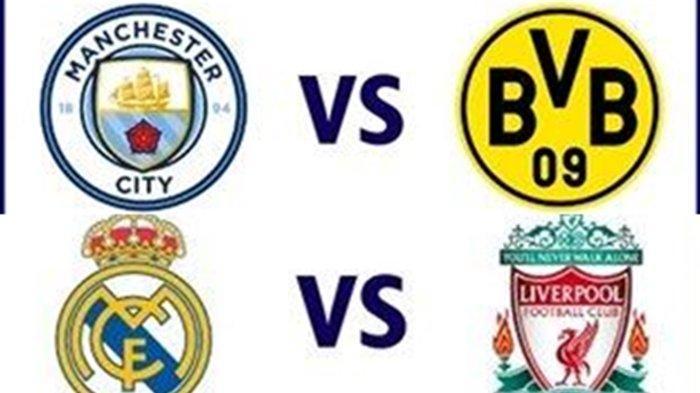 BIG MATCH Liga Champions, Real Madrid vs Liverpool & Man City vs Dortmund, Prediksi dan Line Up