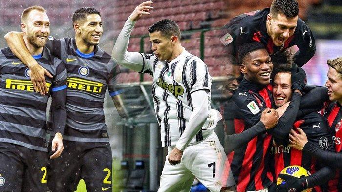 Jadwal Liga Italia, Alarm Bahaya Juventus, Bisa Kesulitan Kejar Inter Milan dan AC Milan