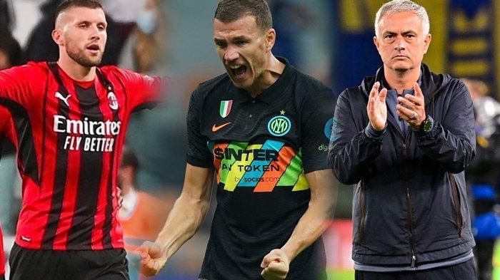 Klasemen Liga Italia, AC Milan Buntuti Inter Milan, Bulan Madu Jose Mourinho di AS Roma Berakhir