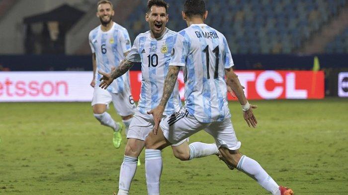 Bantai Ekuador 3-0, Lionel Messi jadi Aktor Penting Lolosnya Argentina ke Semifinal Copa America