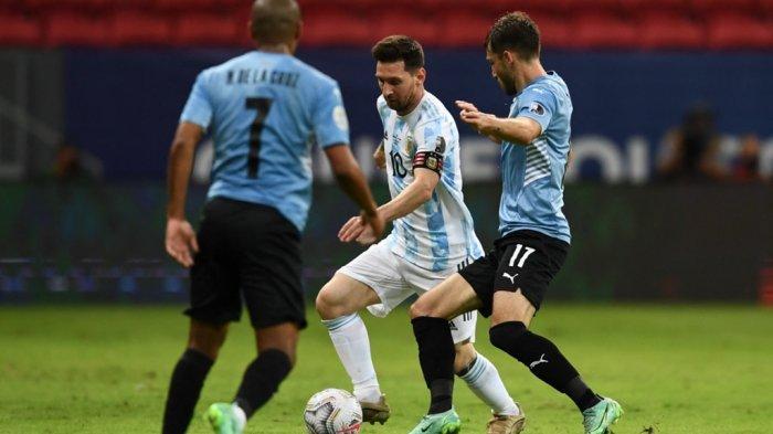 Kualifikasi Piala Dunia, Argentina vs Uruguay, Peluang Diego Godin Cetak Sejarah, Messi Starter