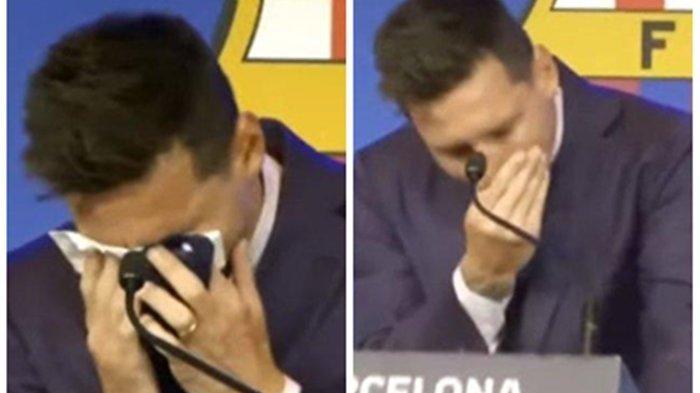 Hengkang dari Barcelona, Berikut Pengakuan LionelMessi pada Media: Saya tak Tahu Harus Berkata Apa