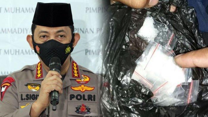 Institusi Listyo Sigit Tercoreng, Polwan Pangkat Kompol di Jabar Terlibat Narkoba Bareng 11 Polisi
