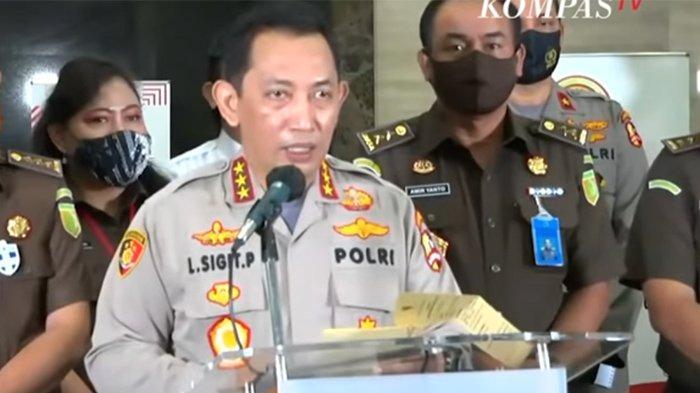 Kabareskrim Komjen Listyo Sigit Prabowo. (Tangkapan Layar YouTube KompasTV)