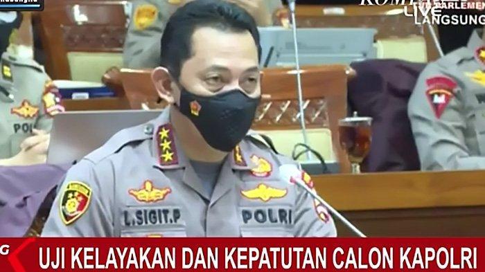 Gebrakan Listyo Sigit, Jenderal Anak Buah Megawati di DPR Lempar Pujian, Calon Kapolri Milenial