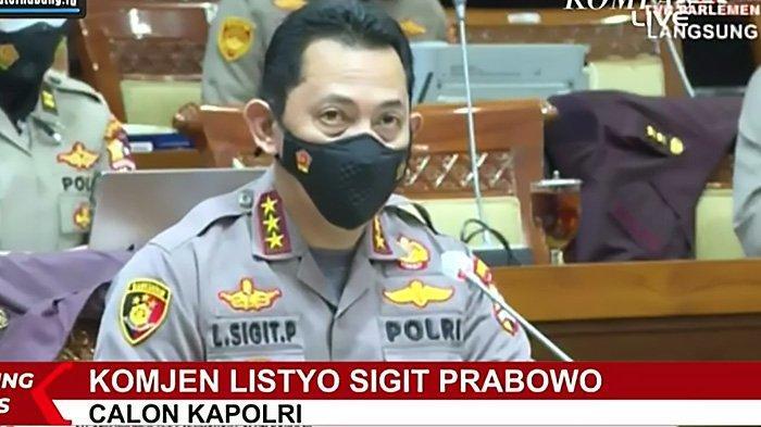Di Hadapan Komisi III DPR, Calon Kapolri Listyo Sigit Prabowo Ingin Polsek Tak Dibebani Penyelidikan