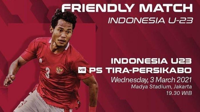 TERUNGKAP Kronologi Lengkap Laga Timnas U-23 Indonesia vs Tira Persikabo Batal, Ada Larangan Polisi?