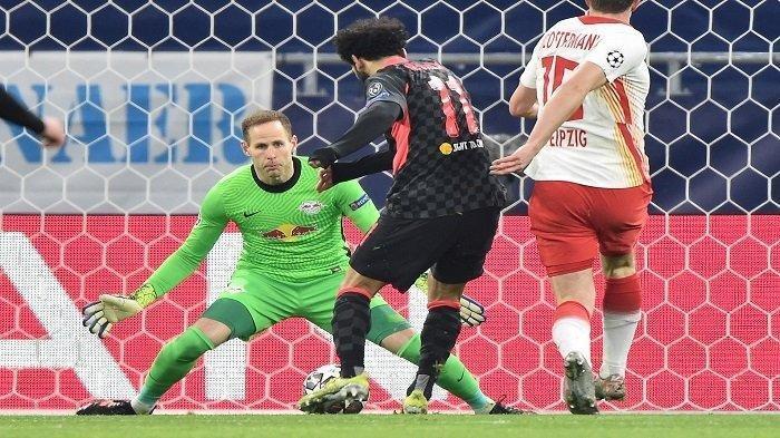 Hasil RB Leipzig vs Liverpool, Salah Cetak Gol, The Reds Sukses Menuju Perempat Final Liga Champions