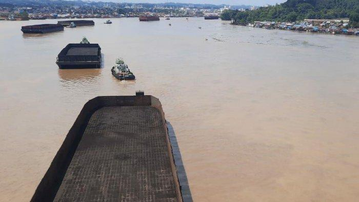 Ingin Ambil Kunci Jangkar di Ponton, ABK Kapal di Samarinda Tenggelam, Diduga Kapal Tertabrak Ponton