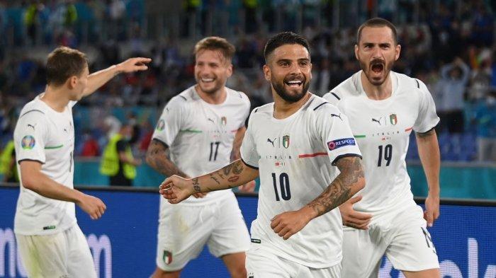 Bungkam Turki 3-0, Italia Pimpin Grup A Euro 2020, Duet Ciro Immobile-Lorenzo Insigne Moncer