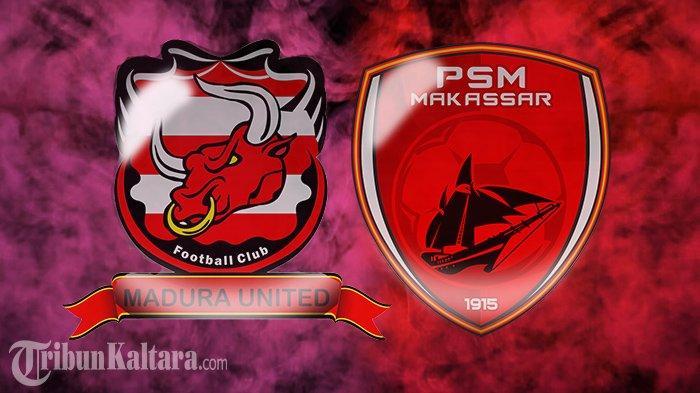 Live Streaming Madura United vs PSM di Liga 1, Adu Kreatif Gelandang Impor Wiljan Pluim & Hugo Gomes