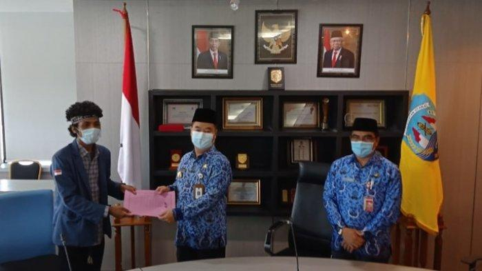 Temui Pjs Gubernur Kaltara Teguh Setyabudi, Mahasiswa Sampaikan 9 Tuntutan, Desak Pemekaran Kabudaya