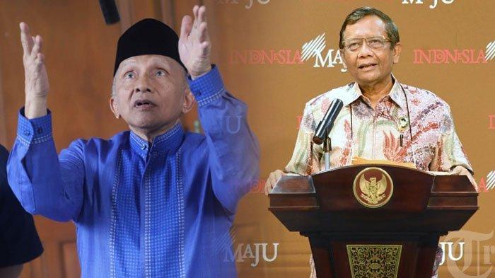 Pendiri PAN Amien Rais Deklarasikan Partai Ummat, Mahfud MD Bereaksi hingga Singgung Parpol Sehat