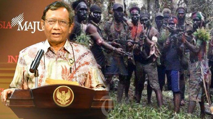 RESMI, Pemerintah Tetapkan Aksi Brutal KKB Papua Sebagai Terorisme, TNI Polri dan BIN Dapat Perintah