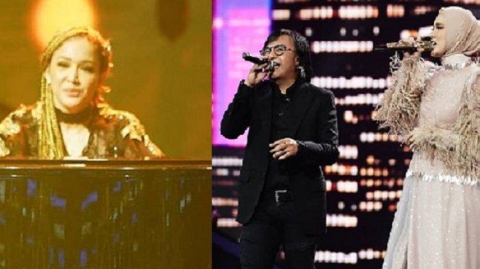 Maia Estianty Pilih 'Menghilang' saat Mulan Jameela dan Ahmad Dhani Manggung di Idol, Intip Momennya