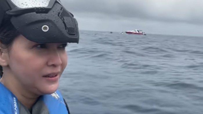 Kesaksian Maia Estianty, Rasakan Hal Aneh Liburan di Pulau Seribu, Tepat Sriwijaya Air SJ 182 Jatuh