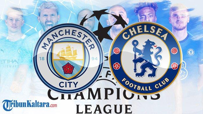 Link Live Streaming Man City vs Chelsea Final Liga Champions di SCTV Pukul 02.00 Wib