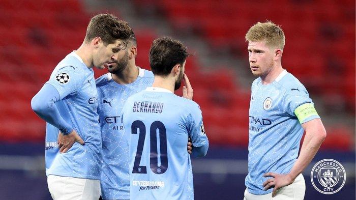 Tak Terbendung, Unggul Agregat 4-0, Man City Singkirkan Borussia Moenchengladbach di Liga Champions