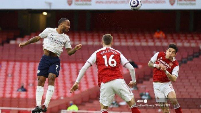 Manchester City Permalukan Tuan Rumah Arsenal 0-1, Kokoh Pimpin Klasemen, Sterling Ukir Rekor