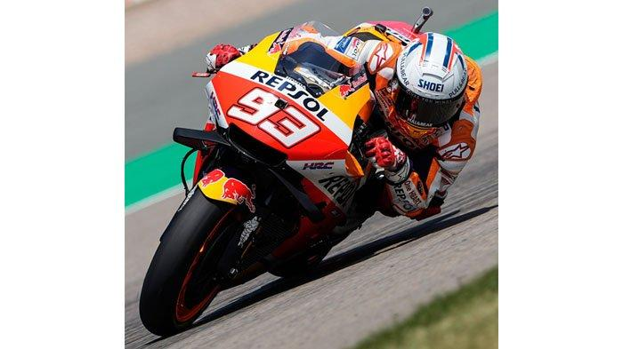 MotoGP Jerman 2021, Kesempatan Marquez Pertahankan Gelar Raja Sirkuit Sachsenring, Rossi Tercecer
