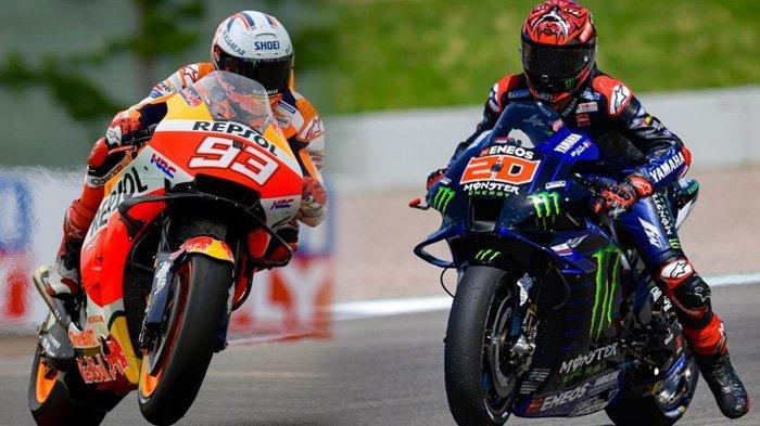 Jadwal MotoGP Belanda 2021, Quartararo Masih di Puncak Klasemen, Marc Marquez Curi Kesempatan