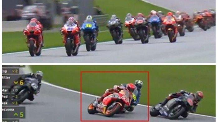 2 Motor Terbakar Diikuti Red Flag di MotoGP Styria, Berikut Nasib Dani Pedrosa & Lorenzo Savadori