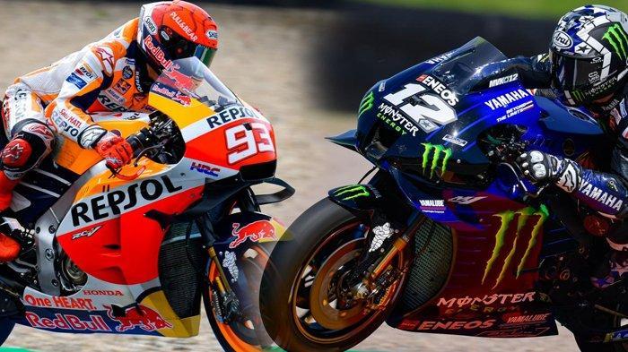 Starting Grid MotoGP Belanda 2021, Marc Marquez Jeblok, Rossi Tak Berubah, Vinales Pole Position