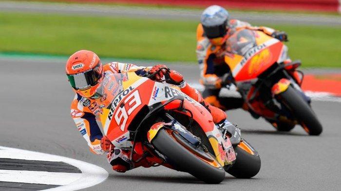 Jadwal MotoGP San Marino 2021, Marc Marquez Berambisi Ulangi Kesuksesan di MotoGP Aragon