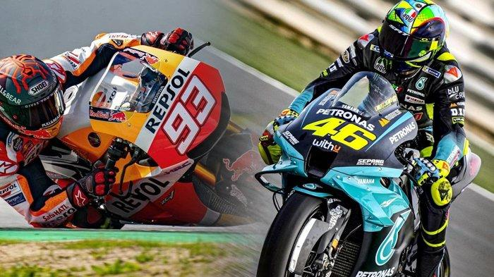 MotoGP Jerman 2021, Respons Tak Terduga Marc Marquez, Mendadak Lempar Pujian ke Valentino Rossi