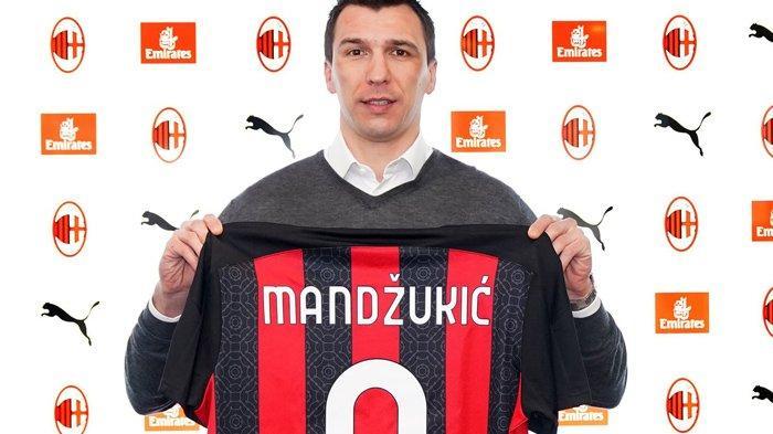 Resmi Jadi Pemain AC Milan, Mario Mandzukic Justru Beri Kabar Buruk ke Milanisti Gegara Ini