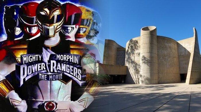 Nostalgia Era 90an, Markas Power Rangers Ada di Dunia Nyata, Terdeteksi via Google Maps